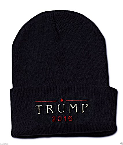 [Donald Trump 2016 EMBROIDERED Republican MAKE AMERICA GREAT AGAIN Beanie CAP HAT] (Bellboy Costumes)