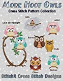 Tracy Warrington More Hoot Owls ... Cross Stitch Pattern Collection
