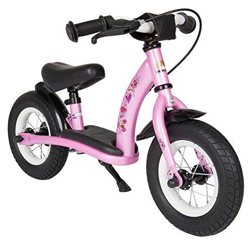 Bikestar-10-Inch-254cm-Kids-Balance-Bike-Kids-Running-Bike-Classic-Pink-Fairy-Design