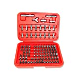 Neiko 100-Piece Security Bits Set with Hard Storage Case