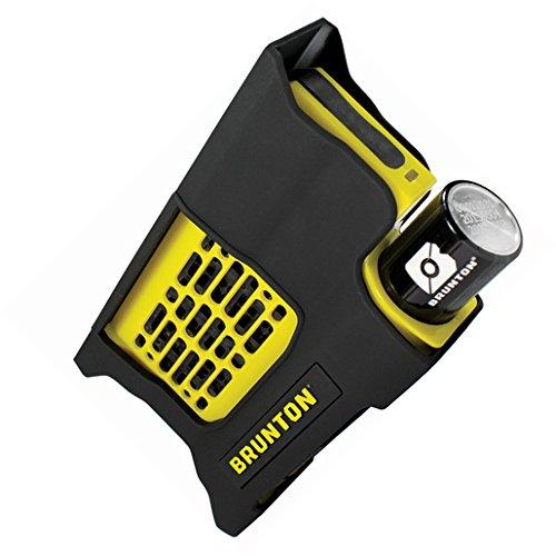 Brunton F-REACTOR-YL Hydrogen Reactor Portable Power Fuel Cell, Yellow