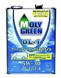 MOLYGREEN モリグリーン DL-1 5W-30 4L DPF対応ディーゼルエンジンオイル  クリーンディーゼルのためのオイル[HTRC3]