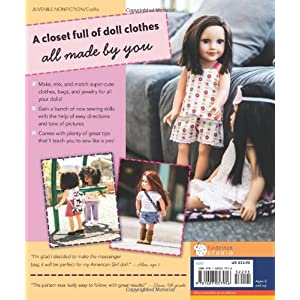 "Sew in Style - Make Your Own Doll Clothes: 22 Projects for 18"" Dolls • Build Your Sewing Skills"