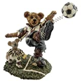 Boyds Bears Resin Rocky Bruin Score Score Score Soccer Bearstone - Resin 5.25 IN