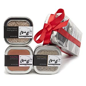 3 Pack Pinky's Kitchen Gift Set Variety Gourmet Spice Blends (4 oz each)