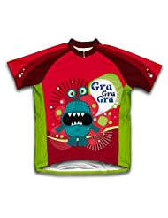 Google Eyes Short Sleeve Cycling Jersey for Women