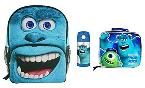 Monsters University Sully Backpack, Funtainer Bottle, & Lunch Tote