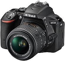 Comprar Nikon D5500 - Cámara digital Reflex de 24.2 MP, color negro - Kit con objetivo AF-S DX Nikkor 18-55mmm f/3.5-5.6G VR II