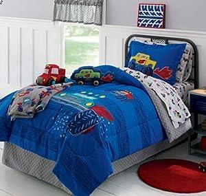 Amazon.com - Monster Trucks Boys Full Comforter Set (8 ...