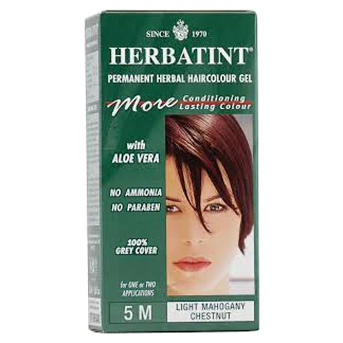 Herbatint Permanent Herbal Haircolour Gel 5M Light Mahogany
