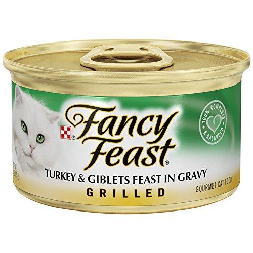 Fancy Feast Grilled Turkey & Giblets Feast In Gravy