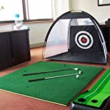 持ち運びできる ゴルフ 練習ネット 自宅用 簡単設置 ランキングお取り寄せ