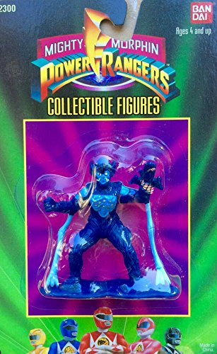 "Mighty Morphin Power Rangers Evil Space Allen Blue 3"" Figure - 1"