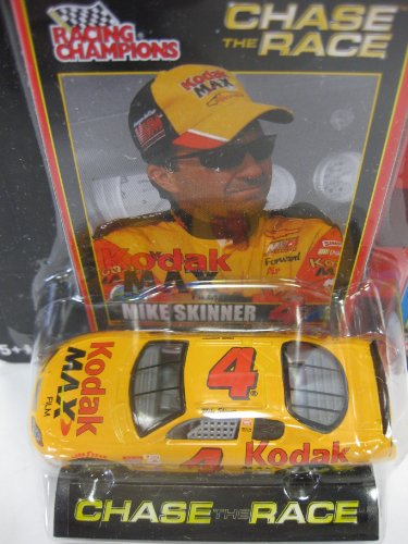 2002 Edition - Chase The Race - Racing Champions Ertl - Nascar #4 - Kodak Max - Mike Skinner - Collectors Series 1:64 Die-Cast front-831781