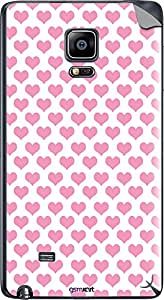 GsmKart SGNE Mobile Skin for Samsung Galaxy Note Edge (Pink, Galaxy Note Edge-361)