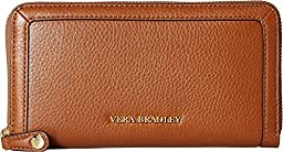 Vera Bradley Women\'s Georgia Wallet Cognac Checkbook Wallet