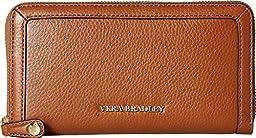 Vera Bradley Women\'s Georgia Wallet Cognac Checkbook Wallet