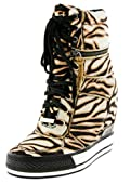 DKNY Griffin Women's Wedge Sneakers Boots