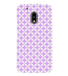 Cosy Purple Diamond 3D Hard Polycarbonate Designer Back Case Cover for Motorola Moto G4 :: Motorola Moto G (4th Gen)