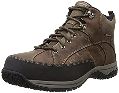 Dunham Men's Lawrence Steel Toe Boot, Size: 7 Width: 4E Color: Brown