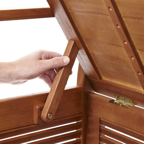 "Three Seat Storage Hallway Bench ""Sunart"" in Balau hardwood 1580mm x 550mm x 890mm"