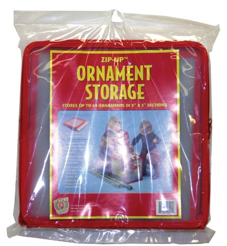 Good Tidings 26212112 Ornament Storage Container Holds Upto 64 Ornaments