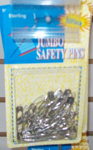 Sterling Jumbo Safety Pins
