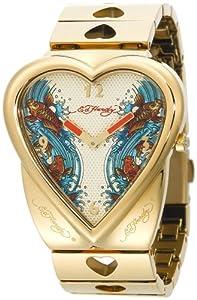 Amazon.com: Ed Hardy Women's CR-KI Crush Koi Watch: Ed Hardy: Watches