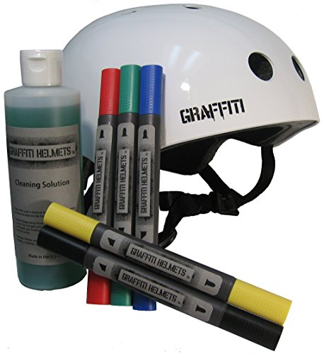 Graffiti Helmets Skateboard Helmet (Classic, Medium)