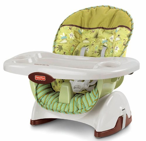 Review Fisher-Price 2012 Space Saver High Chair, Scatterbug
