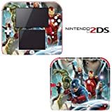 Avengers Decorative Video Game Decal Cover Skin Protector for Nintendo 2Ds
