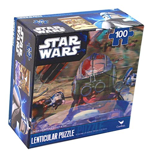 Star Wars Lenticular Puzzle, Pod Race 100 Pieces