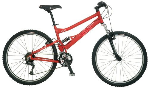 Schwinn Delta Sport Dual-Suspension Mountain Bike (26-Inch Wheels, Small)