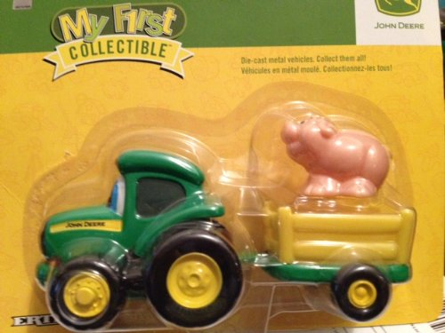 My First Collectible John Deere Tractor With Corn front-969214