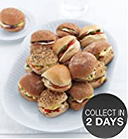 Vegetarian Mini Roll Selection (16 Rolls)