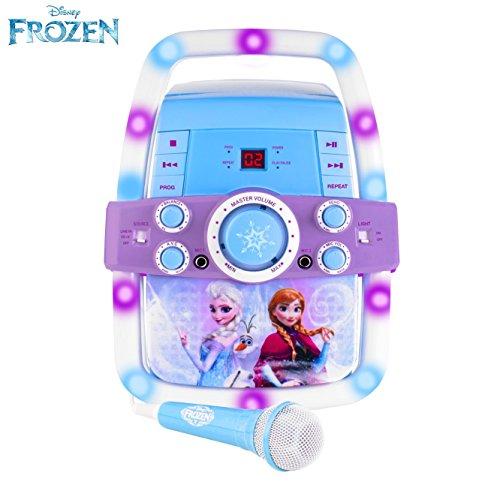frozen karaoke machine instructions