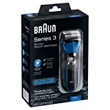 Braun Series 3340S-4 Wet and Dry Shaver (Black/Blue)by Braun