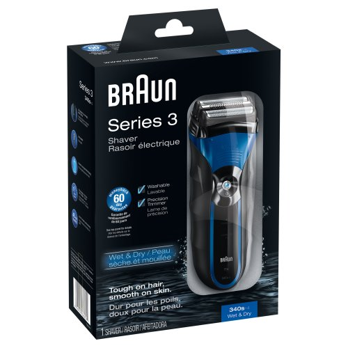 Braun 3Series 340S-4 Wet & Dry Shaver front-836678