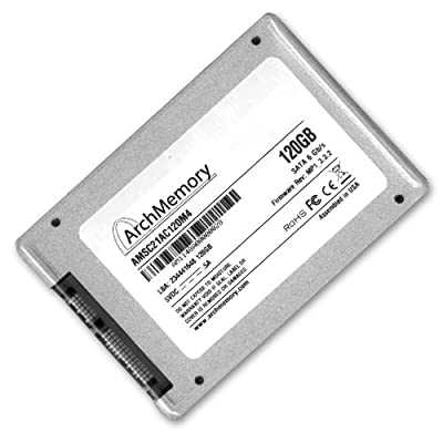 120 GB SSD Solid State Hard Drive SATA 3 III 6.0 Gb/s 2.5 Inch with TRIM Support & Sandforce Controller 120GB from Arch Memory