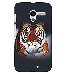 FUSON 3D Designer Back Case Cover for MOTOX D10097