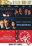 Brad Pitt: Sleepers/Meet Joe Black/Twelve Monkeys [DVD]