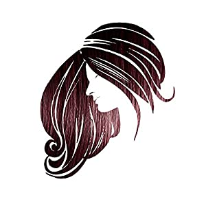 Henna Maiden VIBRANT WINE RED Hair & Eyebrow Color: 100% Natural & Chemical Free