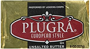 Plugra European-Style Butter - Unsalted (8 ounce)