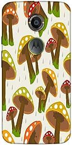 Snoogg Seamless Rainy Season Background Designer Protective Back Case Cover F...