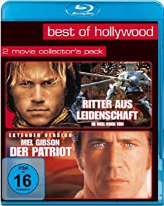 Best of Hollywood - 2 Movie Collector's Pack 14 (Ritter aus Leidenschaft / Mel Gibson - Der Patriot) [Blu-ray]