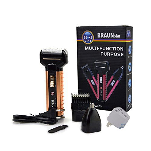 professional hair trimmer clippers beard trimmer nose hair. Black Bedroom Furniture Sets. Home Design Ideas