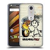 Offizielle Brandalised Brennender Reifen Street Kunst Soft