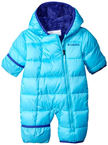 Columbia Baby Girls Frosty Freeze Bunting, Atoll, 3-6 Months
