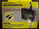 NES/SNES/Sega Genesis Universal RF Unit Automatic TV/Game Switch
