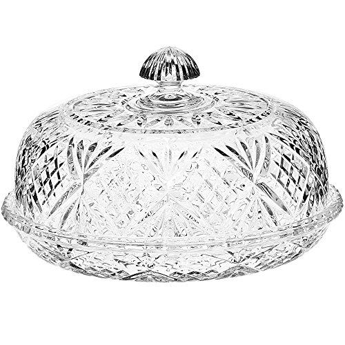 Dublin by Godinger Crystal Covered Pie Dome (Godinger Crystal Cake Plate compare prices)